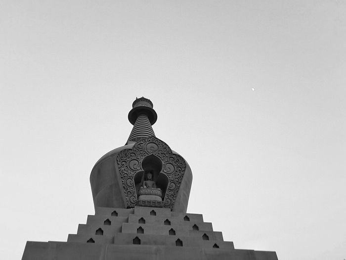 Religion Statue No People Architecture Sculpture Day Sky Outdoors Black And White Friday