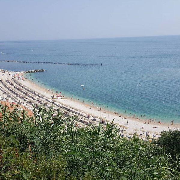 Ferie Vacanze Mare Spiaggia Numana laspiaggiola Beach Marche Great View Vacation2015