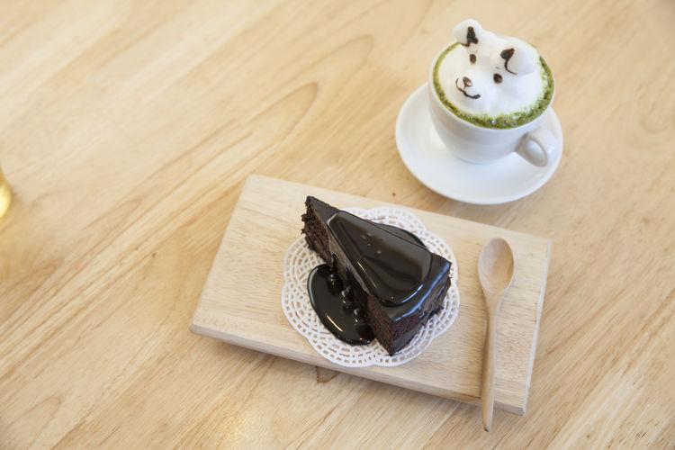 Cake Latte Art
