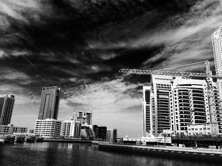 black and white IPhoneography AkosiArny Landscape Sky And Sea The Places I've Been Today EyeEm Best Shots Dubai