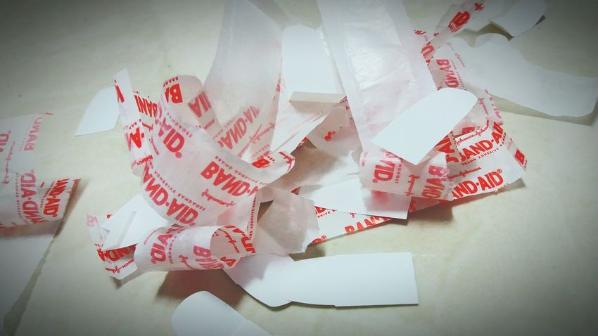 At some point you just pull of the band aid and it hurts but then its over and you are relieved Band Aid Pain