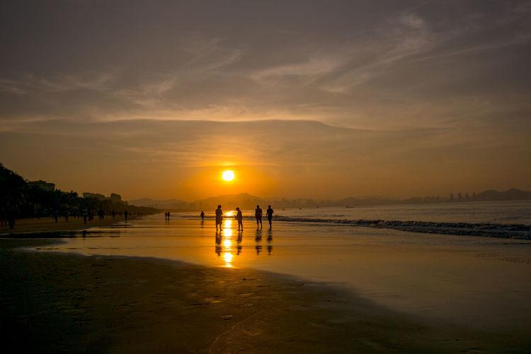 海上日出 Beach