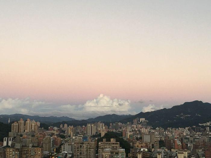 Cloud Sunset Mashmallow