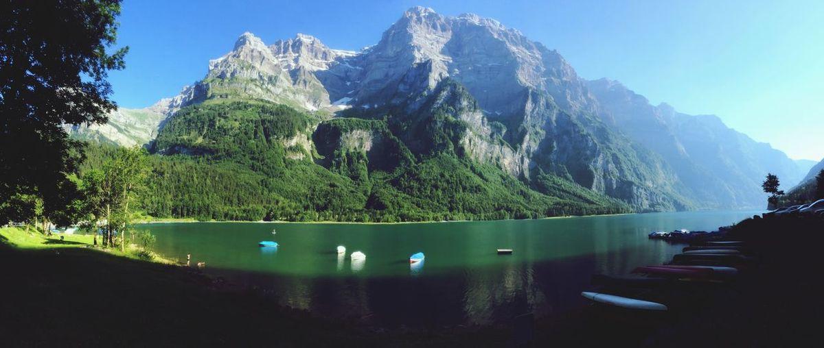 Lake View Swiss Mountains I Love Switzerland !!!