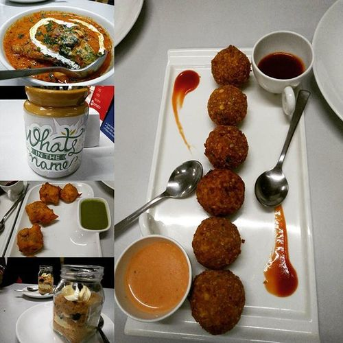 Goodfood Dessert Butterchicken Cheesepoppers Omlettepakoda Rumandraisincheesecakeinjar Foodlover Foodie