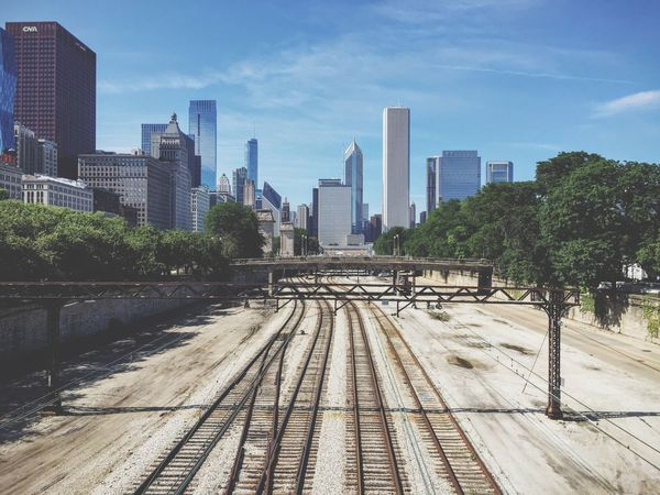 Chicago Chicago Grant Park Soldier Field Trains Train Tracks Cityscapes City City Life Discover Your City