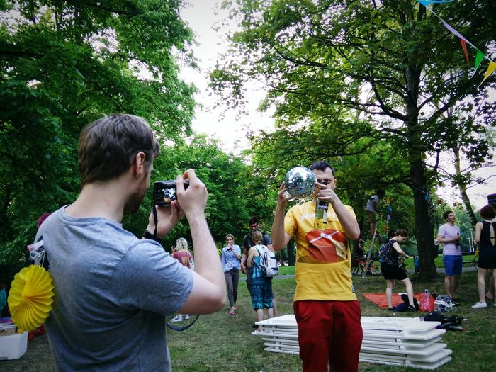 Taking Photos Of People Taking Photos Eea3-berlin The Global EyeEm Adventure Being Lukasz Jędrzej's Testing Face Great Outdoors With Adobe