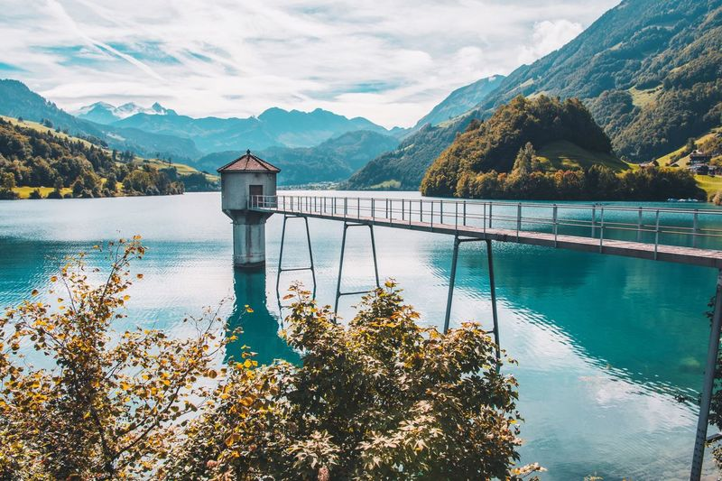 Un paraíso suizo! Lungernsee Switzerland Swiss Mountains Water Tree Scenics - Nature Plant Beauty In Nature Mountain Range No People Sky Day Lake Tranquility Tranquil Scene Nature Outdoors Cloud - Sky Travel Destinations