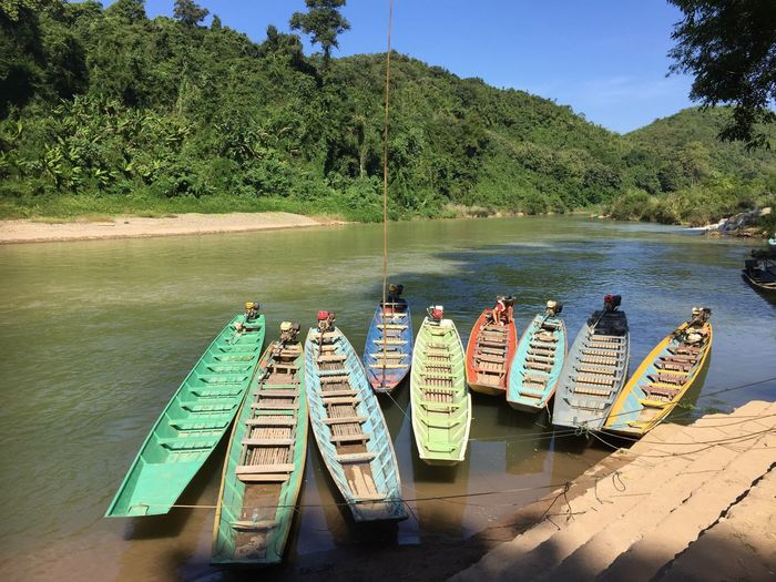 Colours in Laos