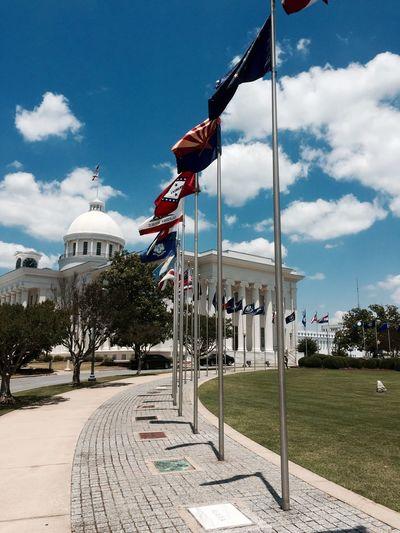 Montgomery Montgomery, Al. Capitol Capitol Building Politics Politik Politics And USA