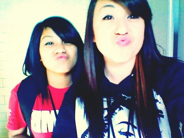 me and my homegirl c: