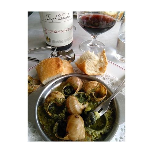Escargot Ricorico Avecunbonspetitvin Cotedebeaunevillages