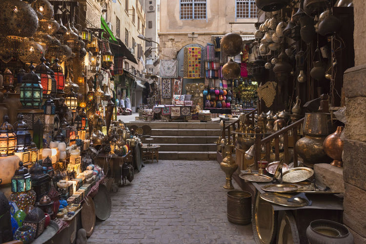 Ancient Culture Decoration Egyptian Culture Holiday Khan Al-khalili Market Middle Eastern Old Cairo Tourist Vacations