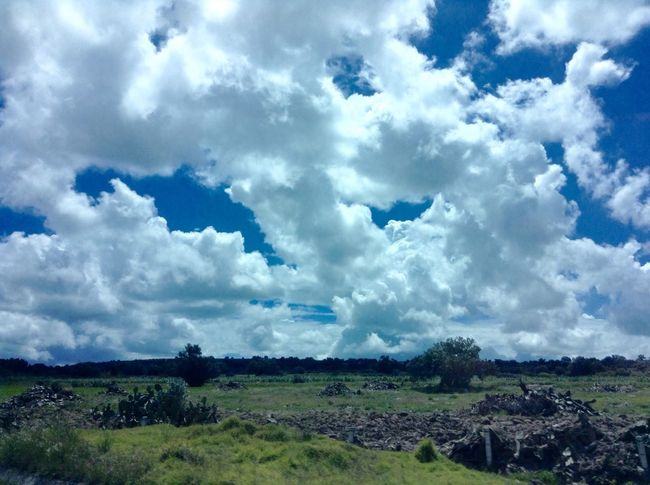 Messico e nuvole Mexico Clouds Sky Blue Landscape Limitless