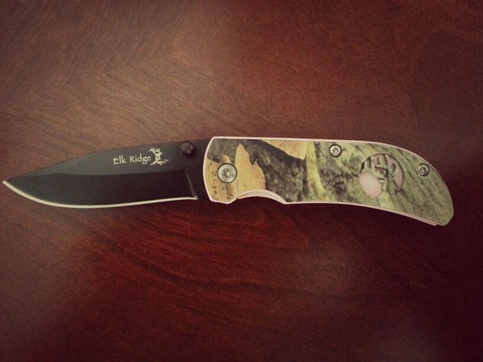 My Knife I Got From The Best In Laws Ever :)