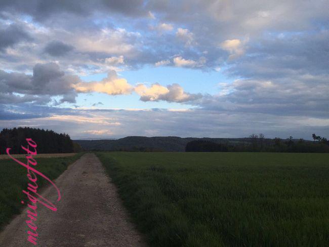 Der Hochrhein ...unendliche Weiten. 💕💗 Monique52 Unterwegs IPhoneography Schwarzwald Sky And Clouds Clouds And Sky Clouds