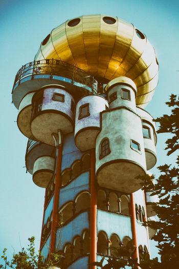 Hundertwasser Hundertwasserhaus Hundertwasser-Haus Abendsberg