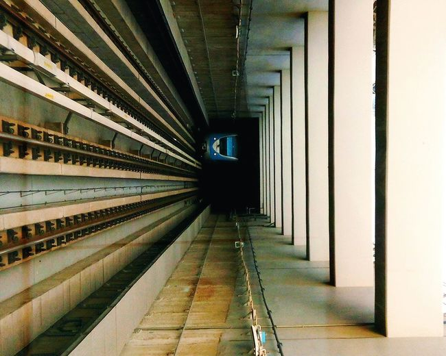 Lift To Dark The Graphic City The Way Forward Built Structure Indoors  Architecture No People