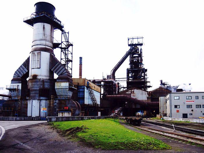 Hochofen Stahlwerk Port Talbot