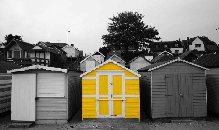 Paint The Town Yellow Beach House Mersea Island