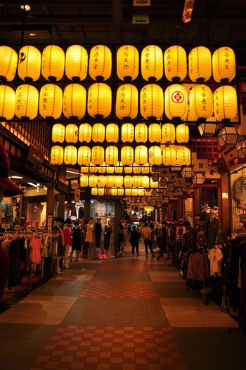 Osaka,Japan Lights Oksk Photopackers Lantern Lighting Equipment Architecture Built Structure Illuminated City Chinese Lantern Store
