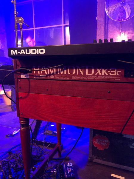 Gig night Concert Gig Music HAMMOND ORGAN Hammond Illuminated Night Lighting Equipment No People Architecture Low Angle View Technology Neon
