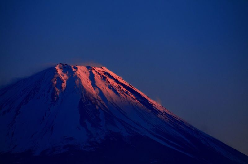 Japan Mount FuJi Lake Shoji Sunset