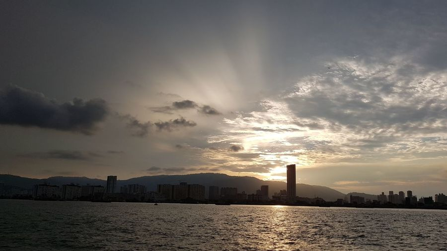 sunset... City