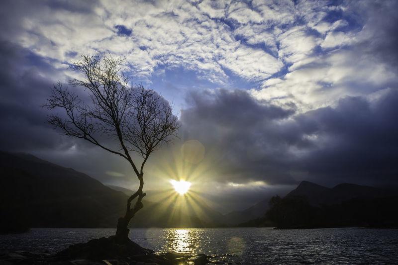 Sunburst, Llyn Padarn