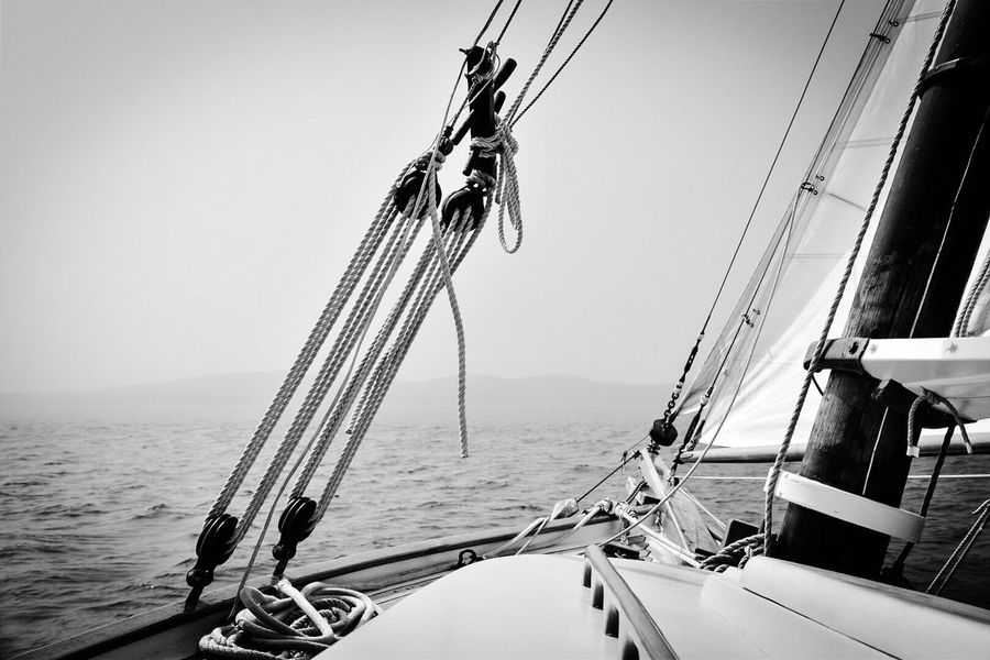 Maine Bar Harbor Salty Air Blackandwhite Photography Journeyphotography Serenity Misty Foggy Perfect Sailing Sea Sailing South Bay Wanderlust Wanderlusting New England  Captain On Bord Bay The Journey Is The Destination