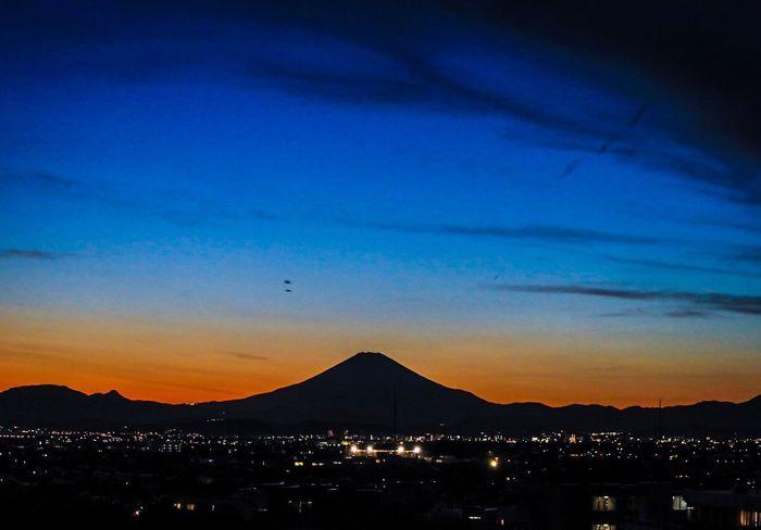 藤沢 富士山