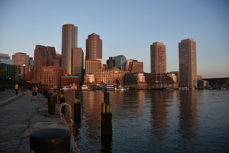 watching sunrise in boston - thanks jetlag! Architecture Building Exterior Capital Cities  City City Life Cityscape Development Light And Shadow Modern Office Building Skyline Skyscraper Sunrise Urban Geometry Water Waterfront