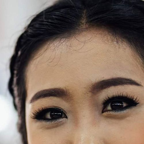 Look in to my eyes you'll get the answer ^ ^ Eyes Pannie MadamPan Congratulaionme Graduation Thailand