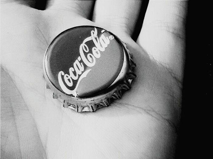 Cocacola Black And White