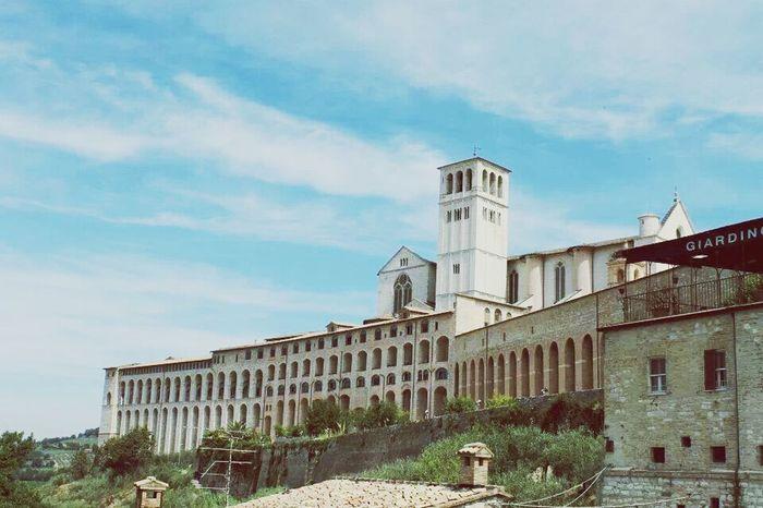 Assisi Umbria Assisi Architecture Landscape