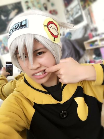 """Soul """"Eater"""" Evans One Person SoulEaterEvans Souleatercospaly Souleater Cosplay Cosplayer Cosplay Shoot First Eyeem Photo"""