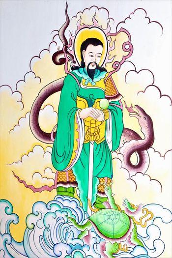 China god Art