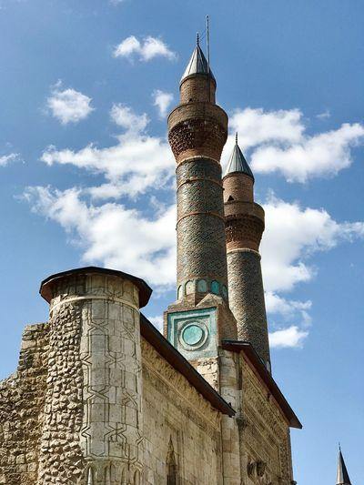 Sivas çifte minareli medrese Medrese seljuk arch