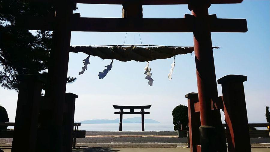 近江最古の神社。 神社