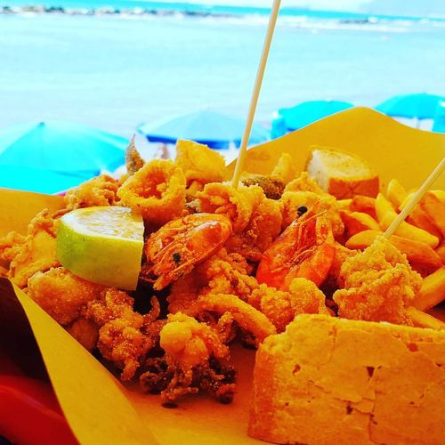 Food Food And Drink Freshness Ready-to-eat Carrara Italian Food Food And Drink Outdoors Seafood Beach Water