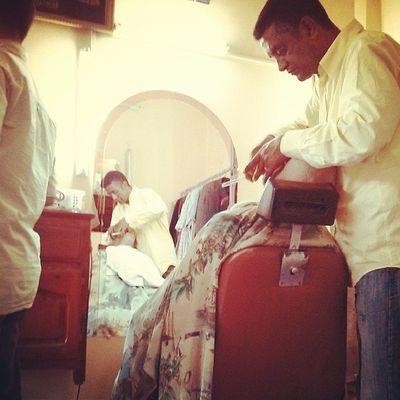 Maroc Benimellal Morocco Barber