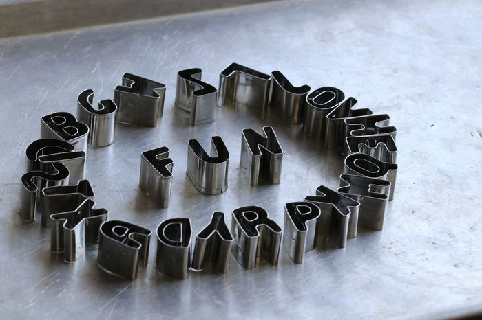 Creative words by stainless steel letters Art Work Classic Hard Work Letters Win Aim Art Background Creative Design Good Words Idea Ideas Letters Art Stainless Steel Letters Success Vintage Words