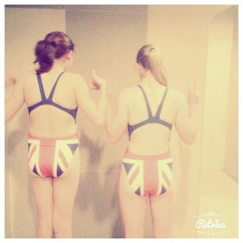 Training Costume Twinzies Unionjack