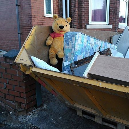 You can make your own lines up for this one! Pooh Dumped Stockport