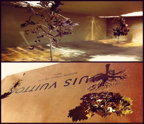 還有屬於Louis Vuitton的paperbag Tree~ Very Impressive