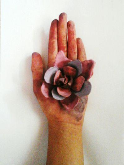 Lotus Flower From an egg carton Art Make Magic Happen DIY Art