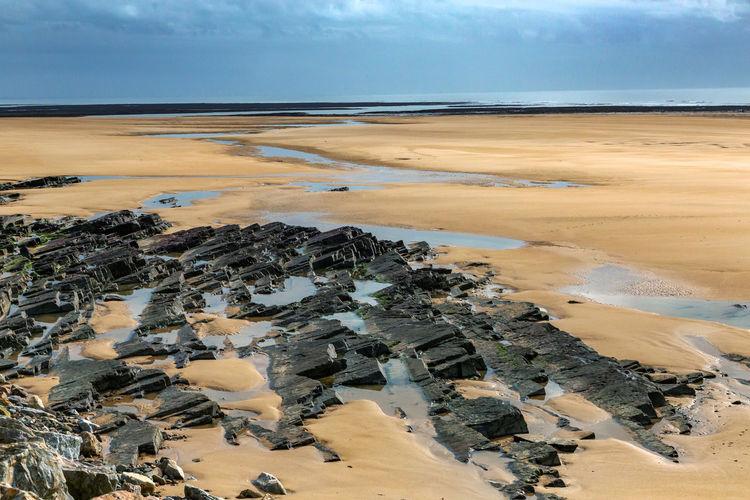 Barneville-carteret France Normandie, France Normandy Beaches Beach Sand Dune Sea Water
