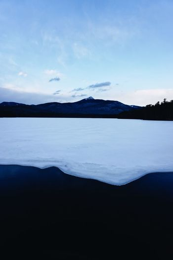 Mountain Water Beauty In Nature Scenics Tranquility Sky Tranquil Scene Nature Landscape No People Lake Waterfront Day Outdoors Iceberg