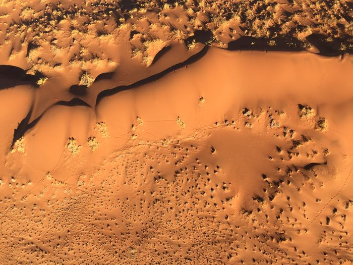 A Bird's Eye View Desert Namibia