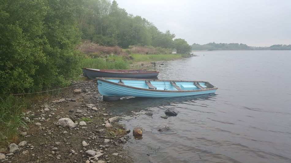 Water Nautical Vessel No People Moored Tranquility Outdoors Beauty In Nature Rowing Boats Lakeshore Misty